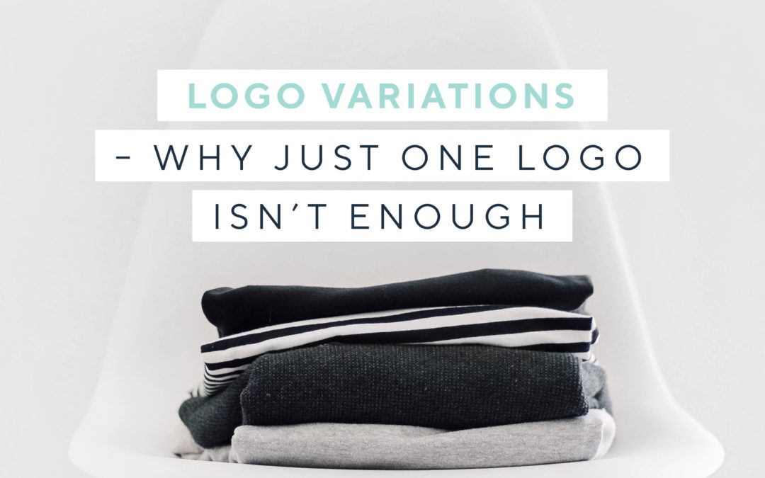 Logo variations – why one logo simply isn't enough!